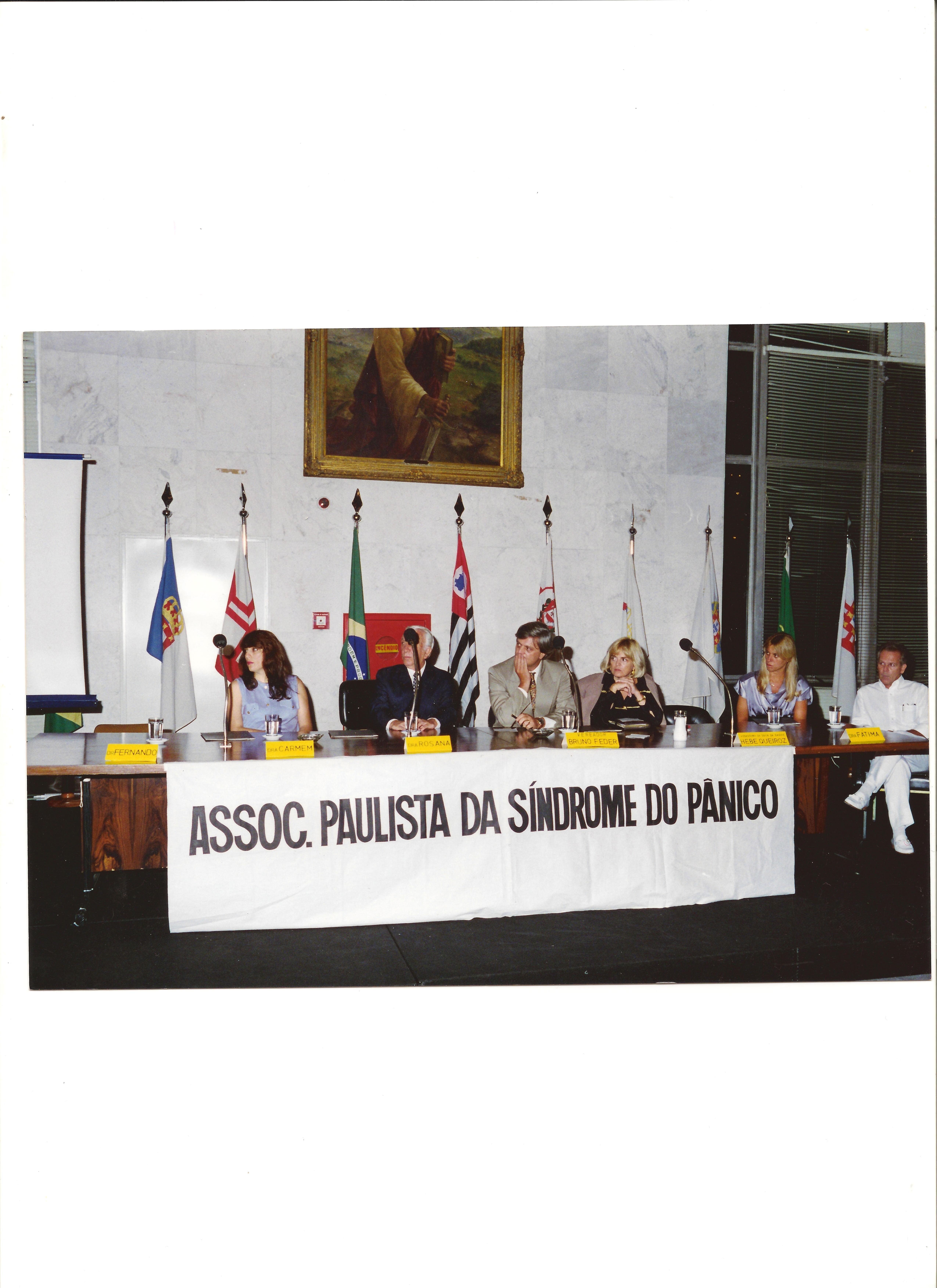 Palestra informativa sobre Síndrome do Pânico na Câmara Municipal