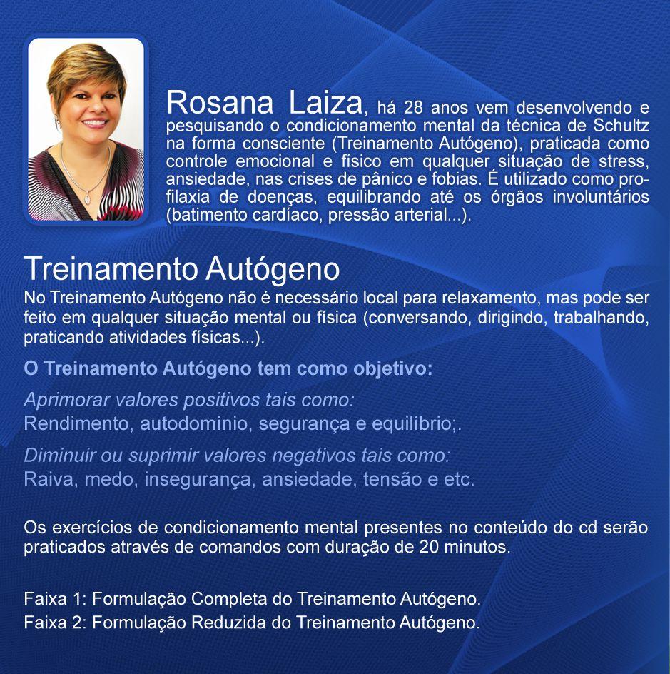 CD - TREINAMENTO AUTÓGENO
