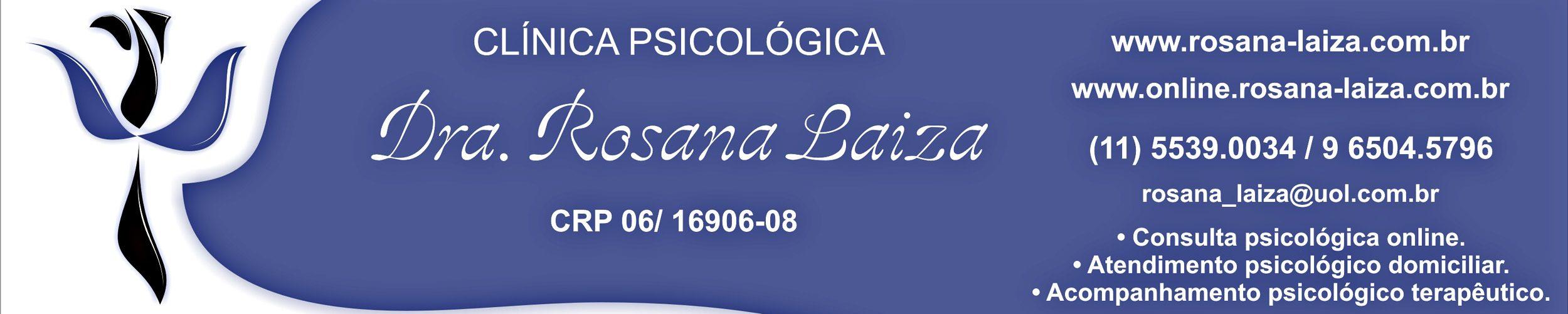Rosana Laiza- Clínica Psicológica