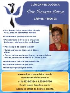Clínica Psicológica Dra. Rosana Laiza.
